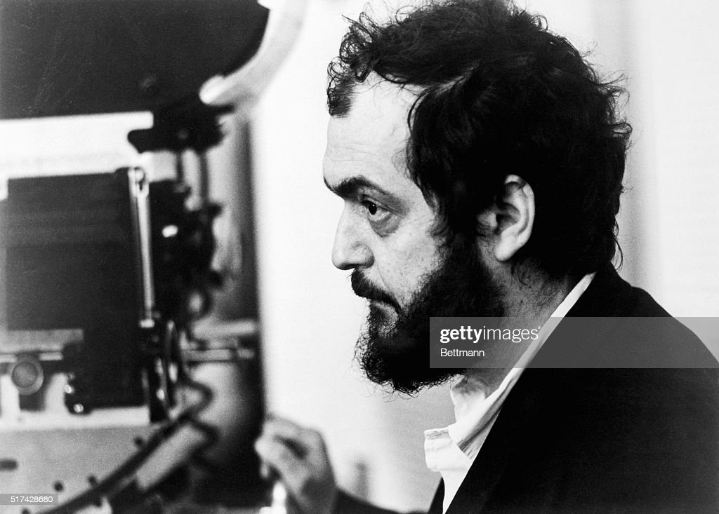 Stanley Kubrick, producer-director of A Clockwork Orange, a Warner Bros. release. Based on the novel by Anthony Burgess, the film was adapted to the screen by Kubrick. Photo shows Kubrick in profile, close-up, behind the camera.
