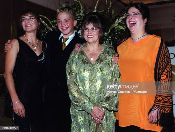 Stanley Kubrick's widow Christiane duaghters Anya Katharine with Alexandra Hobbs attend a ceremony given by The Directors Guild of Great Britain to...