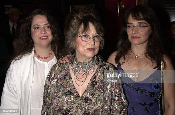 Stanley Kubrick's wife, Christiane Kubrick, and daughters Anya and Vivian
