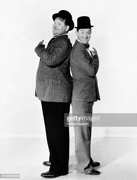 Stanley Laurel real name Arthur Stanley Jefferson made about 50 comedies before being cast with Oliver Hardy in Home from the honeymoon which marked...