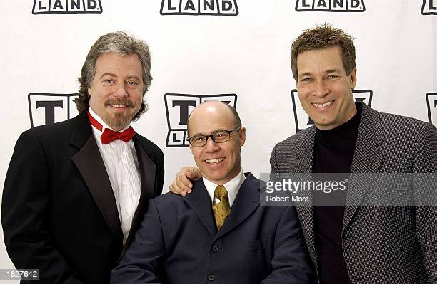 Stanley Livingston Barry Livingston and Don Grady of My Three Sons pose backstage at the TV Land Awards 2003 at the Hollywood Palladium on March 2...