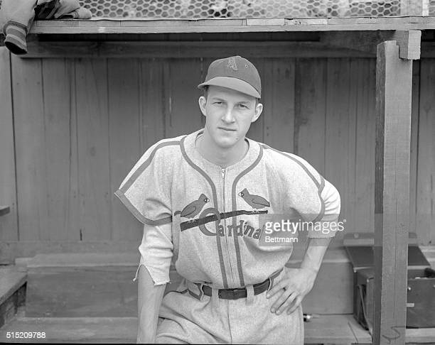 Stanley Musial Outfielder for Cardinals Posing in Uniform