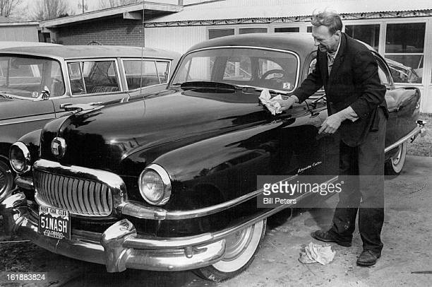 FEB 22 1980 FEB 28 1980 MAR 1 1980 Stanley Nerad of 4955 Howell St Golden Puts Shine to his 1951 Nash Ambassador Nerad a member of Nash Car Club gets...