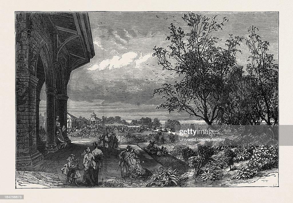Stanley Park, Liverpool, 1870 : News Photo