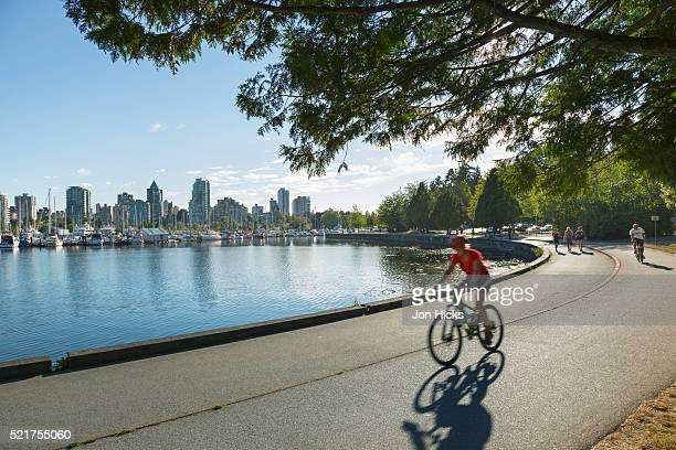 stanley park. - stanley park vancouver canada stock pictures, royalty-free photos & images