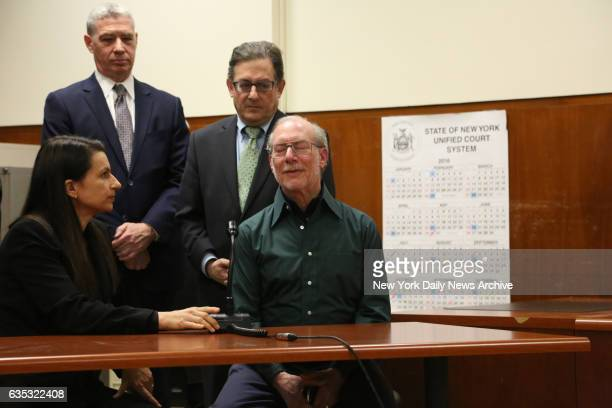 Stanley Patz the father of Etan Patz discusses the verdict in Manhattan Supreme Court on Tuesday February 14 2017 Pedro Hernandez who was on trial...