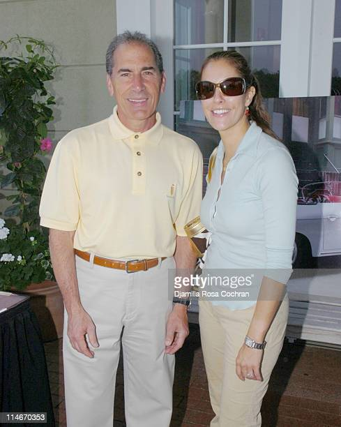 Stanley Pine and Cristina Cuomo during Pirelli Pzero Watches Presents The 2nd Annual Hamptons Golf Classic at Hampton Hills Golf & Country Club in...