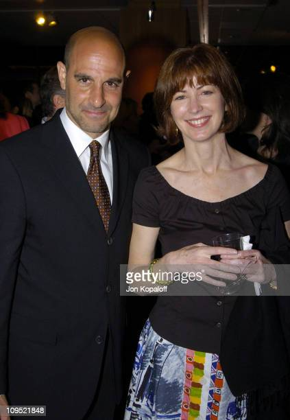 Stanley Tucci and Dana Delany during 'The Terminal' World Premiere After Party at Academy of Motion Picture Arts and Science in Beverly Hills...