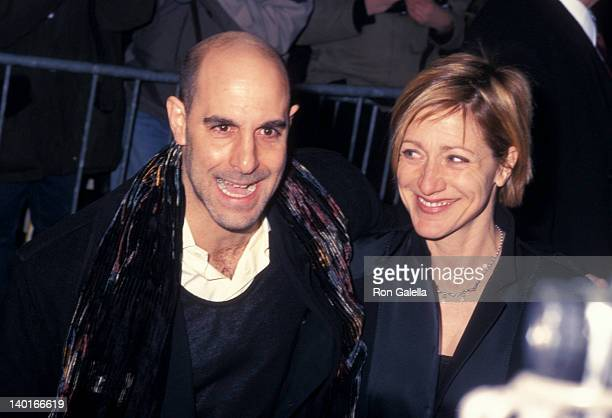Stanley Tucci and Edie Falco at the After Party for New York Premiere of 'Hours' Metropolitan Club New York City