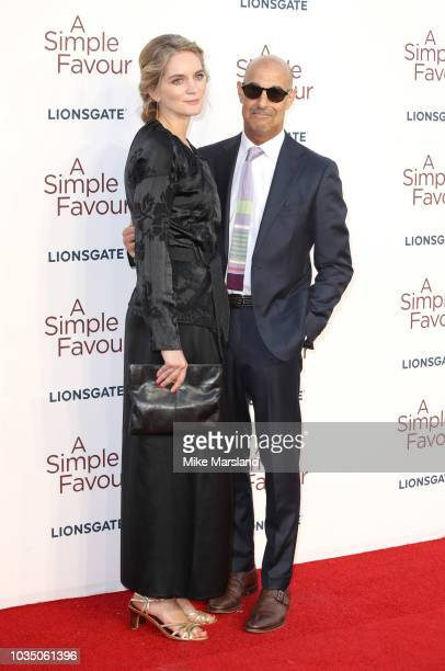 Stanley Tucci and Felicity Blunt attends the UK premiere of 'A Simple Favour' at BFI Southbank on September 17 2018 in London England