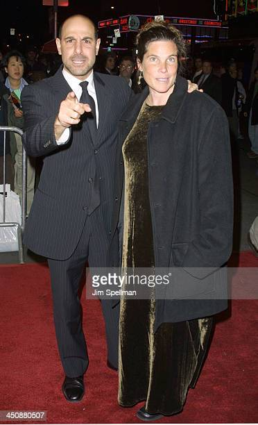 Stanley Tucci and his wife Kate during Sidewalks Of New York New York City Premiere at AMC Theater in New York City New York United States