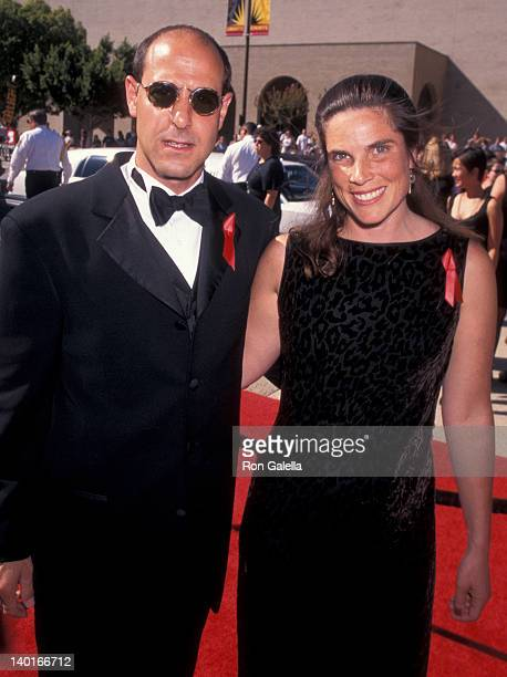 Stanley Tucci and Kate Tucci at the 48th Annual Primetime Emmy Awards Pasadena Civic Auditorium Pasadena