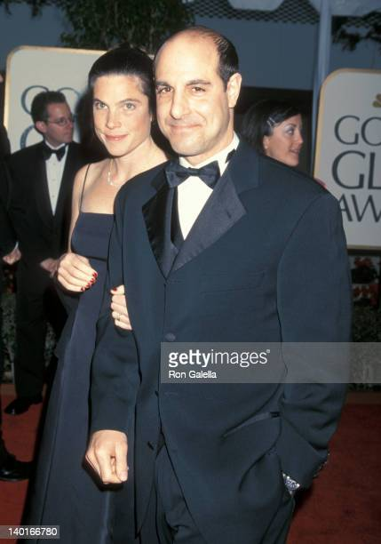 Stanley Tucci and Kate Tucci at the 56th Annual Golden Globe Awards Beverly Hills