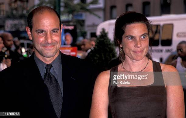 Stanley Tucci and Kate Tucci at the Premiere of In Too Deep Chelsea West Theater New York City