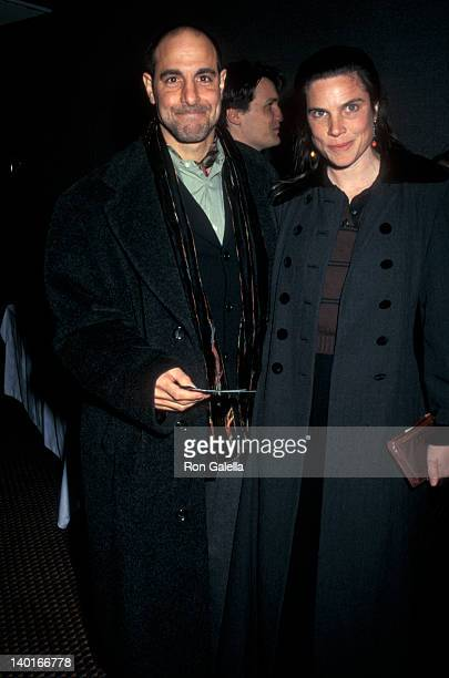 Stanley Tucci and Kate Tucci at the Premiere of Smilla's Sense of Snow Cinema II New York City