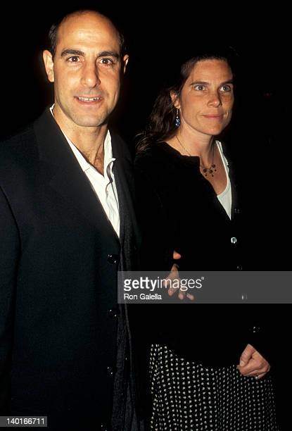 Stanley Tucci and Kate Tucci at the Premiere of 'Trees Lounge' Sony Village 7 Theater New York City