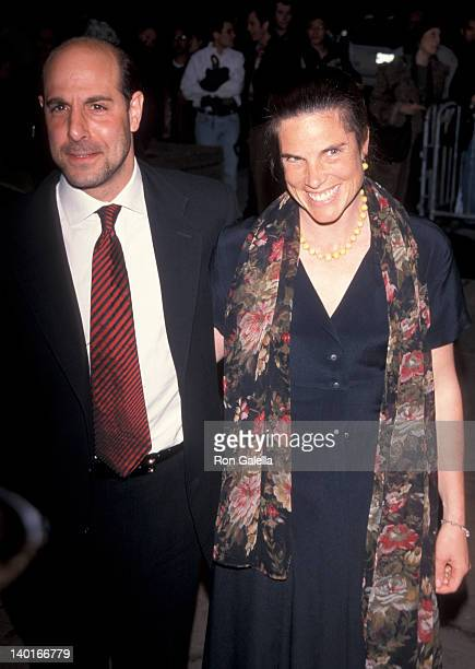 Stanley Tucci and Kate Tucci at the Screening of A Midsummer Night's Dream Chelsea West Cinemas New York City