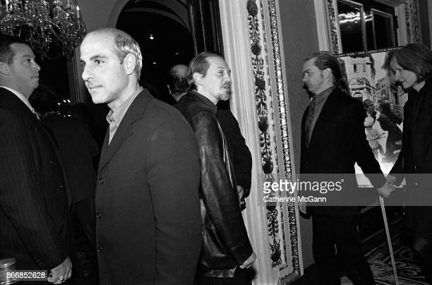 Stanley Tucci and Steve Buscemi at the New York premiere of the movie 'Life Is Beautiful' at the Gotham Theater on October 1998 in New York City New...