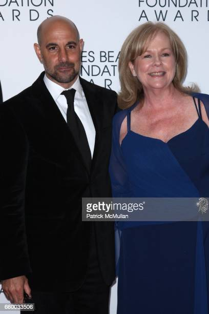 Stanley Tucci and Susan Ungaro attend The 2009 JAMES BEARD FOUNDATION AWARDS at Avery Fisher Hall at Lincoln Center on May 4 2009 in New York City