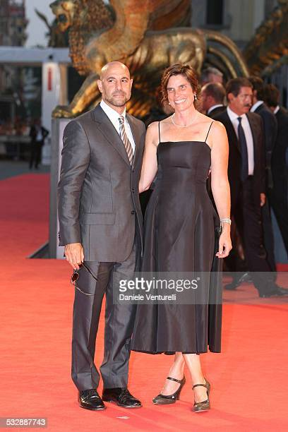 Stanley Tucci and wife Kate during The 63rd International Venice Film Festival The Devil Wears Prada Arrivals at Palazzo del Casino in Venice Lido...