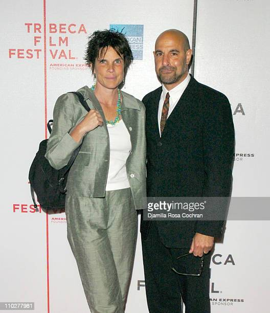 Stanley Tucci and wife Kate Tucci during 5th Annual Tribeca Film Festival My Dad is 100 Years Old Premiere at AMC Loews 68th Street Cinemas in New...