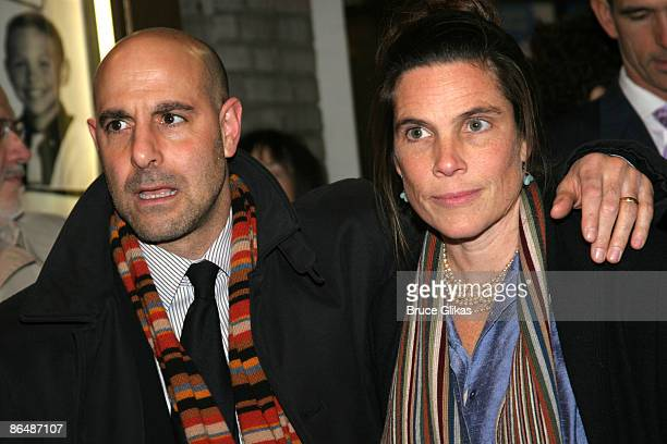 Stanley Tucci and wife Kate Tucci