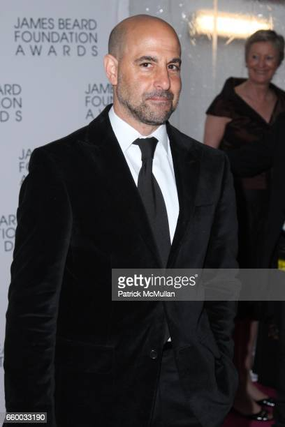 Stanley Tucci attends The 2009 JAMES BEARD FOUNDATION AWARDS at Avery Fisher Hall at Lincoln Center on May 4 2009 in New York City