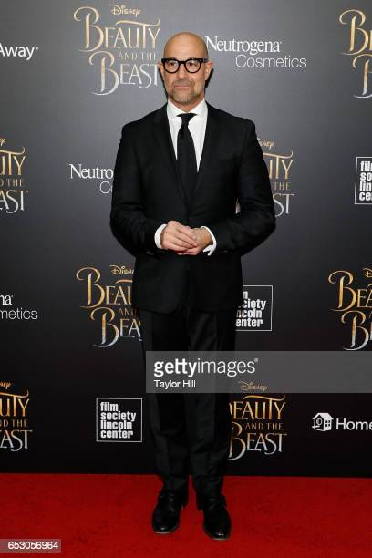 Stanley Tucci attends the Beauty and the Beast New York screening at Alice Tully Hall Lincoln Center on March 13 2017 in New York City