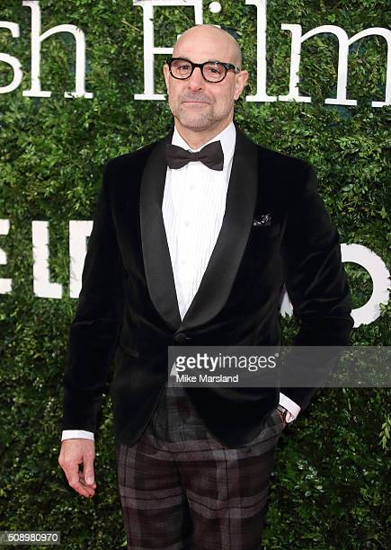 Stanley Tucci attends the London Evening Standard British Film Awards at Television Centre on February 7 2016 in London England