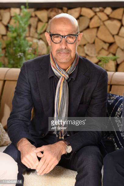 Stanley Tucci attends the RHS Chelsea Flower Show 2019 press day at Chelsea Flower Show on May 20, 2019 in London, England.