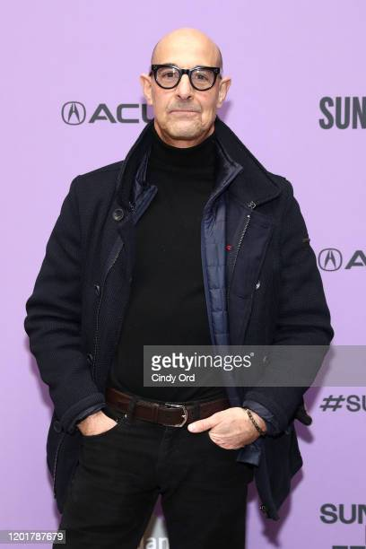 """Stanley Tucci attends the """"Worth"""" premiere during the 2020 Sundance Film Festival at Eccles Center Theatre on January 24, 2020 in Park City, Utah."""