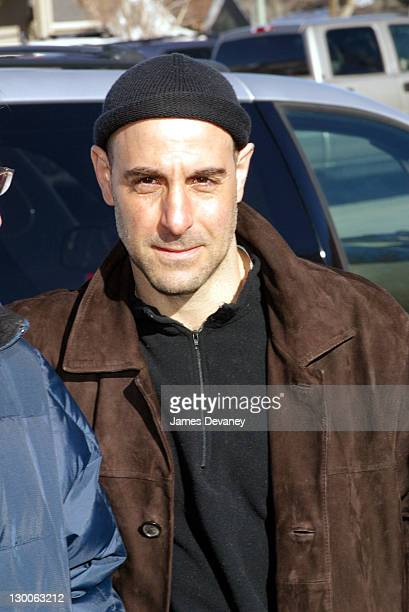 Stanley Tucci during 2003 Sundance Film Festival United States of Leland Premiere at Yarrow in Park City Utah United States