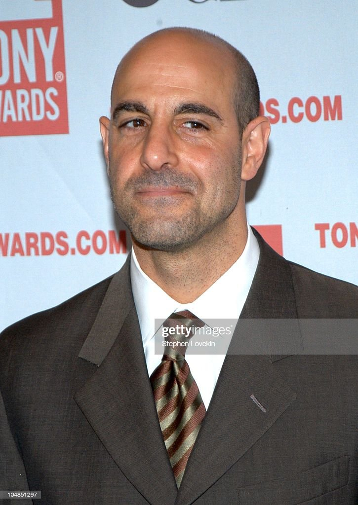 Stanley Tucci during 2003 Tony Awards Nominees Press Reception at The View at the Marriott Marquis in New York City, NY, United States.