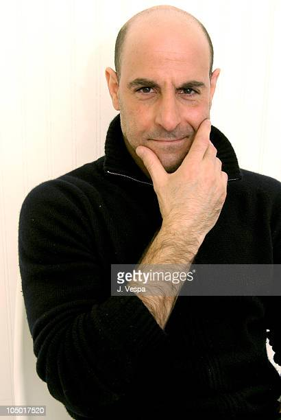 Stanley Tucci executive producer during 2003 Sundance Film Festival The Mudge Boy Portraits at Yahoo Movies Portrait Studio in Park City Utah United...