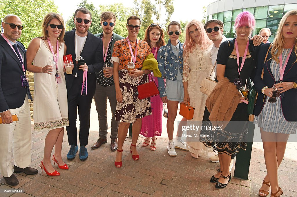 evian Live Young Suite On The Opening Day Of The Championships, Wimbledon 2016 : News Photo