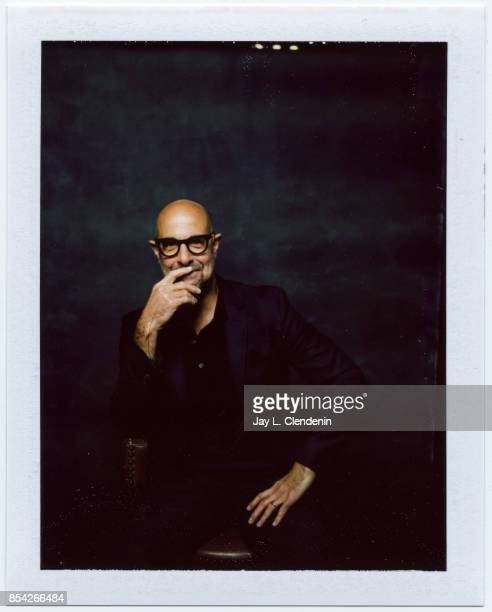 Stanley Tucci from the film The Children Act is photographed on polaroid film at the LA Times HQ at the 42nd Toronto International Film Festival in...