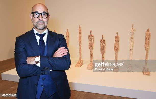 Stanley Tucci hosts a private view of the Giacometti exhibition ahead of the August 4th release of 'Final Portrait, a film he has written and...