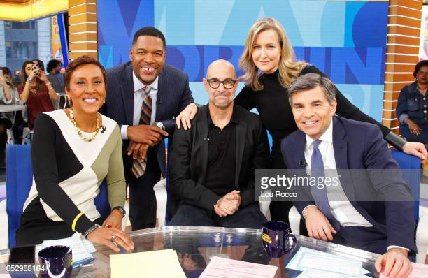AMERICA Stanley Tucci is a guest on Good Morning America Monday March 13 airing on the ABC Television Network ROBIN
