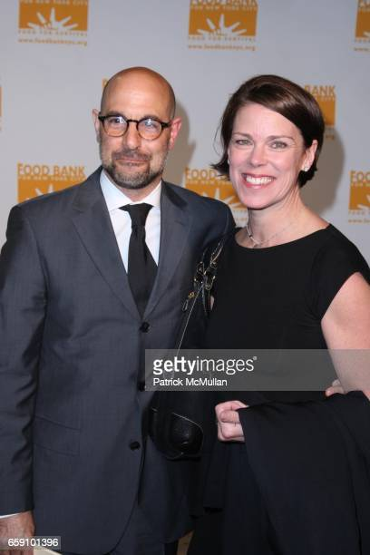Stanley Tucci Kate Tucci attends FOOD BANK FOR NEW YORK Presents the Sixth Annual CANDO AWARDS DINNER at Pier 60 on April 21 2009 in New York City