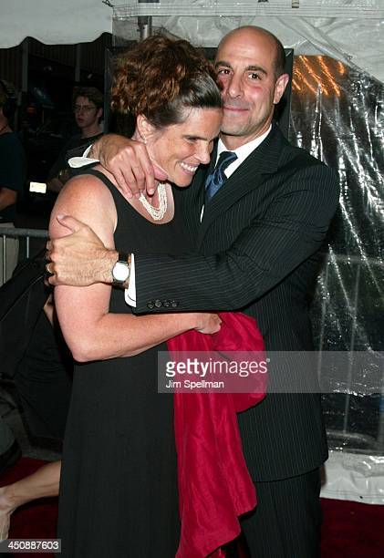 Stanley Tucci wife Kate during Road to Perdition New York Premiere at Ziegfeld Theatre in New York City New York United States
