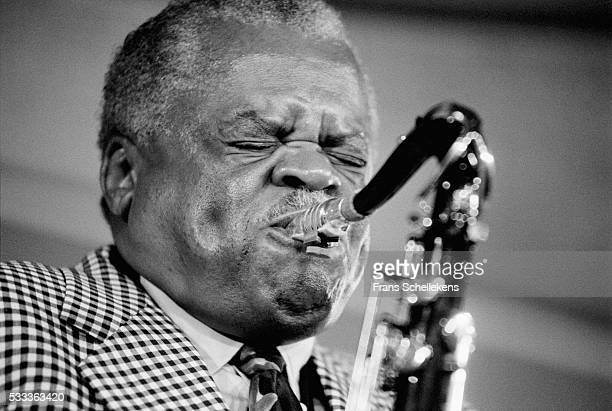 Stanley Turrentine, tenor saxophone, performs on July 9th 1993 at the North Sea Jazz Festival in the Hague, the Netherlands.