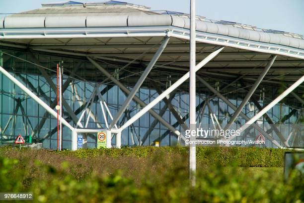 Stansted Airport, Essex, UK Architect, Foster and Partners.