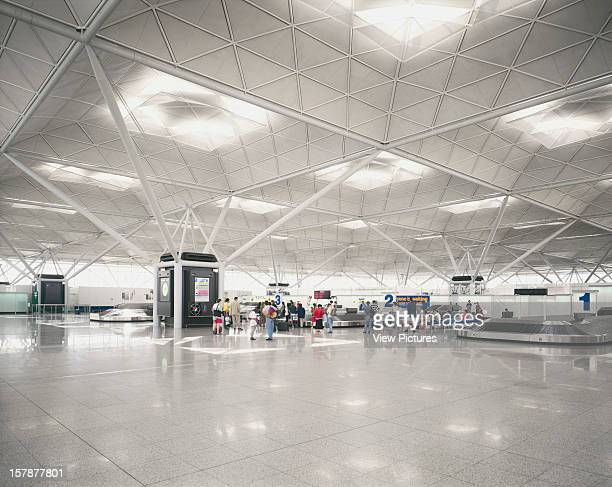 Stansted Airport, Stansted, United Kingdom, Architect Foster And Partners Stansted Airport .
