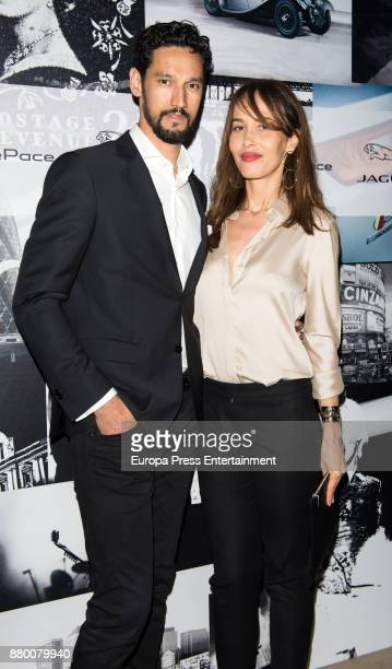 Stany Coppet and Dolores Chaplin attend the new Jaguar EPACE party on November 24 2017 in Madrid Spain