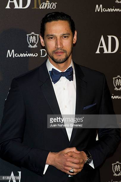 Stany Coppet attends 'AD Awards' at Ritz Hotel on March 3 2016 in Madrid Spain