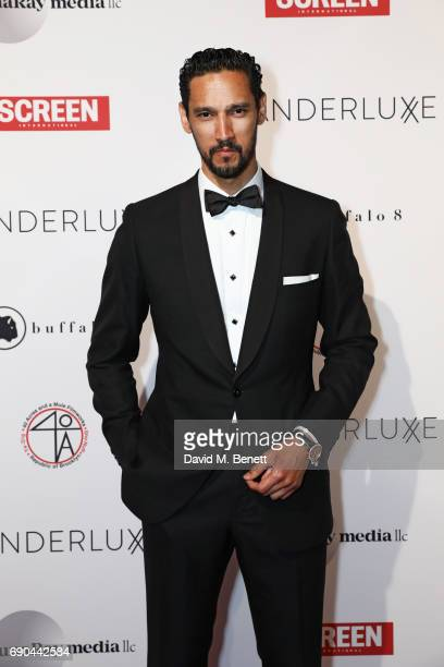 Stany Coppet attends as Spike Lee and Roger Guenveur Smith are honored at the WANDERLUXXE Cannes Film Festival Gala Fundraiser to Benefit Planned...