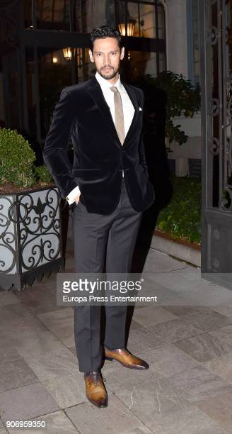 Stany Coppet attends the homage dinner to Victoria Beckham hosted by Vogue Magazine at Santo Mauro hotel on January 18 2018 in Madrid Spain