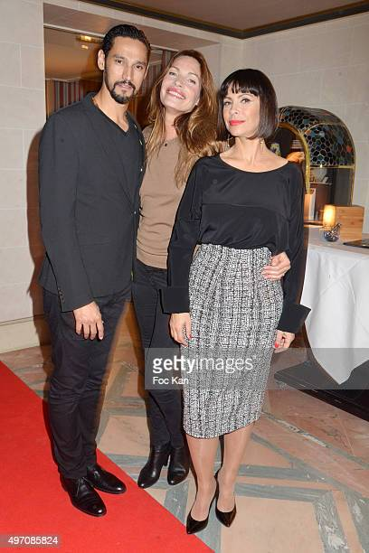 Stany Coppet Laurence Treil and Mathilda May attend day 3 of the 'Festival du Cinema Musique De Film de La Baule' at Hotel Hermitage Barriere on...