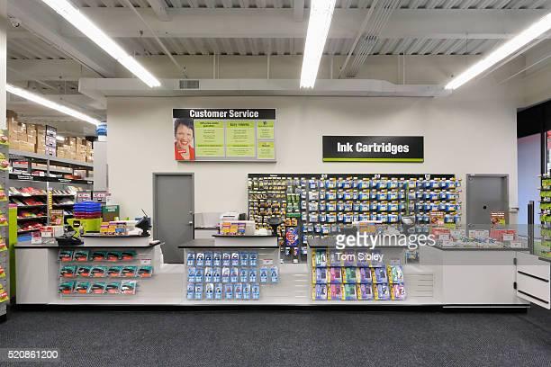 staples store interior