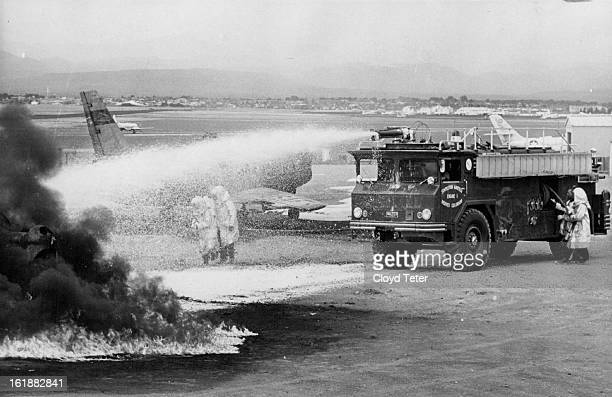 AUG 22 1962 AUG 24 1962 Stapleton Fire Fighters Get New Weapon A new foam truck which will be part of the firefighting equipment at Stapleton Field...